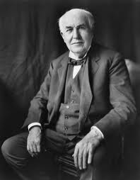 Thomas Edison Portrait Image - Science for Kids All About Thomas Edison