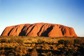 Uluru in the Day Image - Science for Kids All About Uluru - image of Ayers Rock in Australia