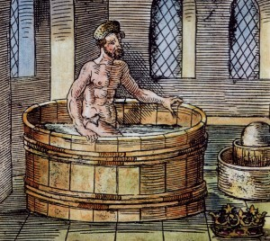 Archimedes in the Tub Image