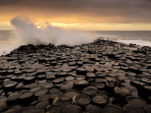 Giant's Causeway Image - Science for Kids All About Giant's Causeway