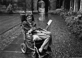 Stephen Hawking in His Wheelchair Image