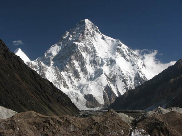 K2 – The Second Tallest Mountain