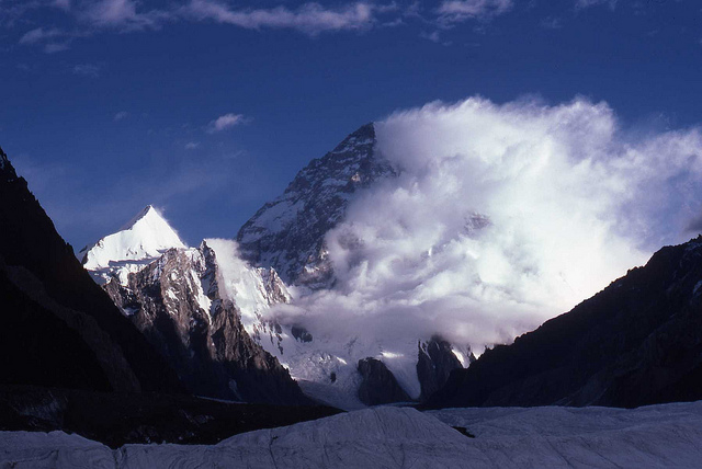 Ice Storm on K2 Image