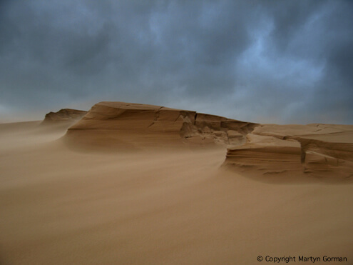 Sandstorm in the Sahara Image