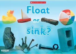 Sink and Float – Free Hidden Wordsearches Science Worksheet