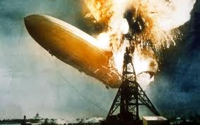 Hindenburg Zeppelin Disaster Image