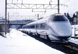 Modern Electric Train Image