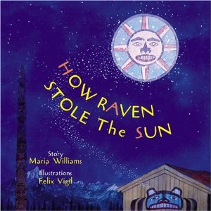 Raven and the Sun Book Cover - Science for Kids All About Raven and the Sun