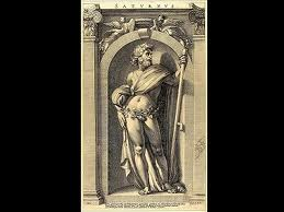 Saturn, the Roman God of Agriculture Image