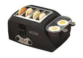 Modern Toaster Machine Image