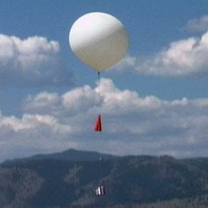 Weather Balloon Up in the Air Image