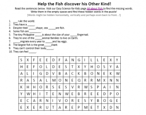Download the FREE Fish Worksheet for Kids!