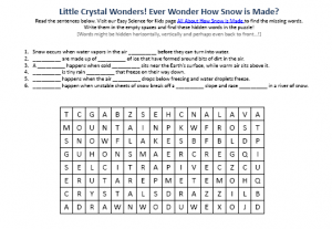 S is for Snow Worksheet - Twisty Noodle