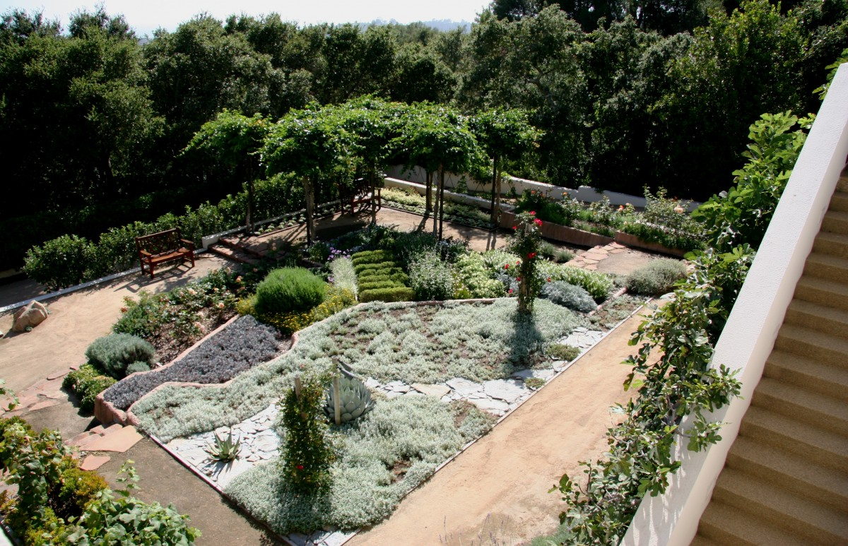 Temperate or Mild Climates Quiz - Image of a Garden Flourishing in Temperate Climate