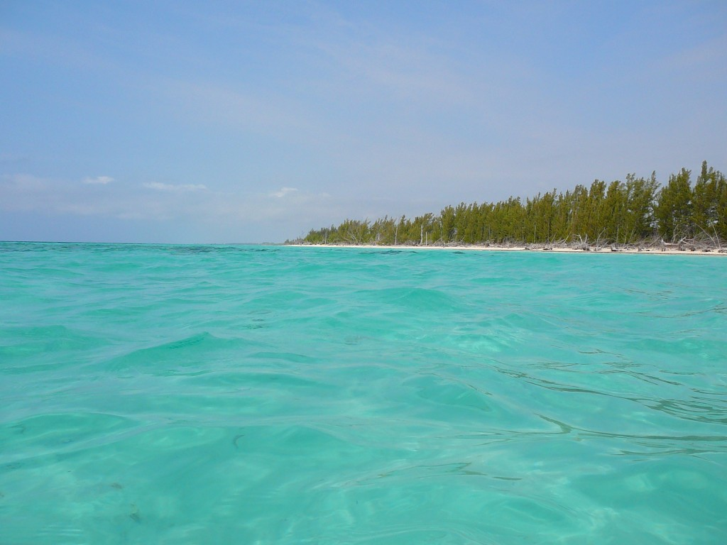 All about Bahamas for Kids - Image of the Gold Rock Beach in Bahamas