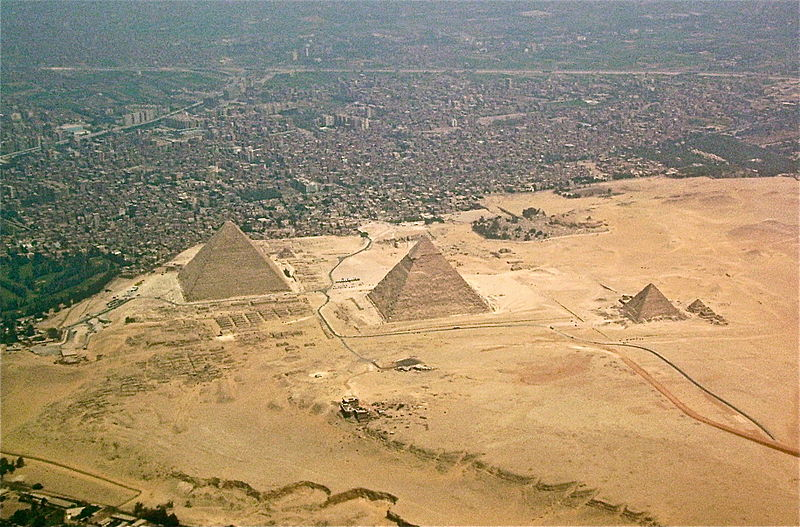 All about Egypt for Kids - Image of the Egyptian Pyramids
