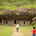 All about Elephanta Island Easy Science for Kids - Image of the Elephanta Caves - Elephanta Island Quiz
