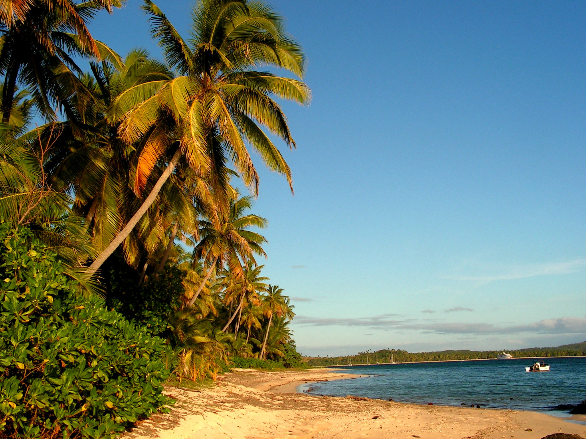 All about Fiji Islands for Kids - Image of the Point Beach in Fiji Islands - Fiji Islands Worksheet