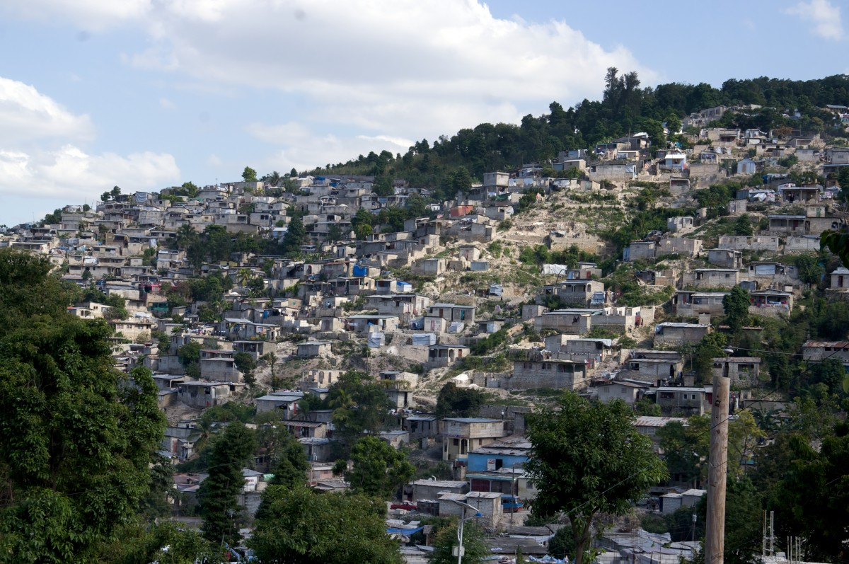 All About Haiti Fun Facts for Kids - Image of Carrefour City in Haiti - Haiti Quiz