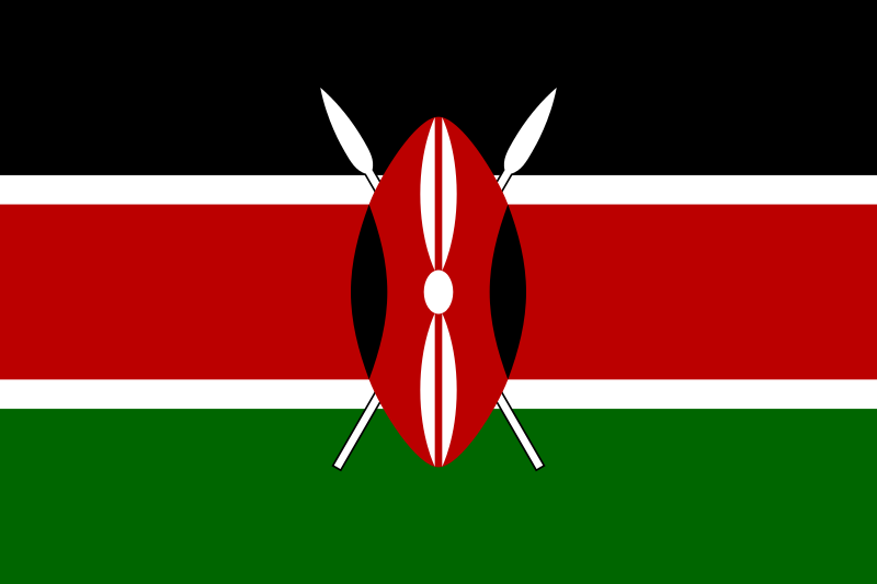 All about Kenya Fun Facts for Kids - National Flag of Kenya