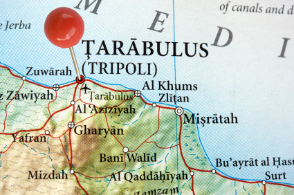 All about Libya Fun Facts for Kids a Map of Tripoli City in Libya