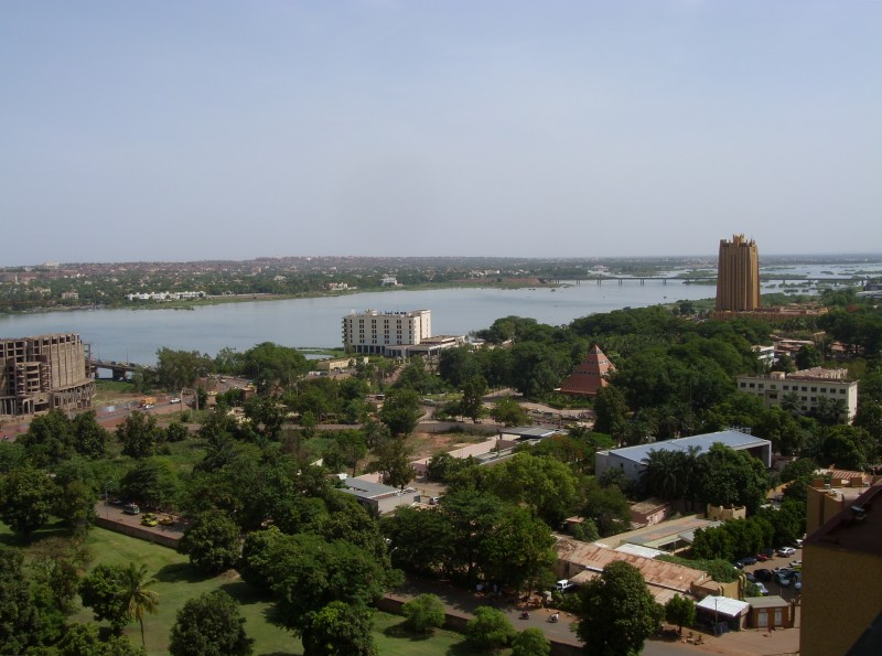 All about Mali Fun Science Facts for Kids - Image of the Bamako City in Mali