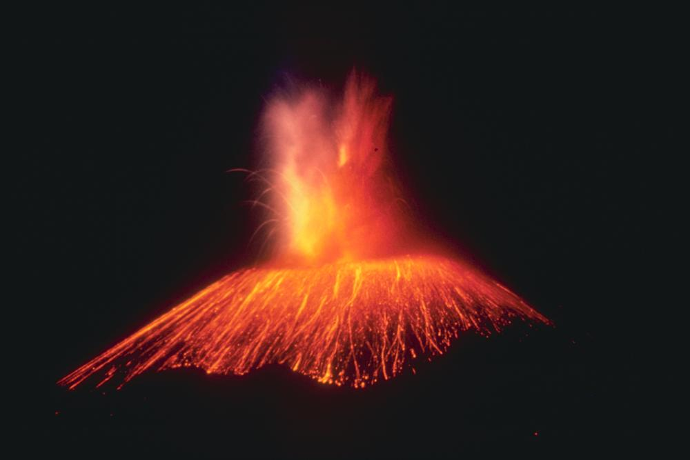 Paricutin Volcano In Mexico