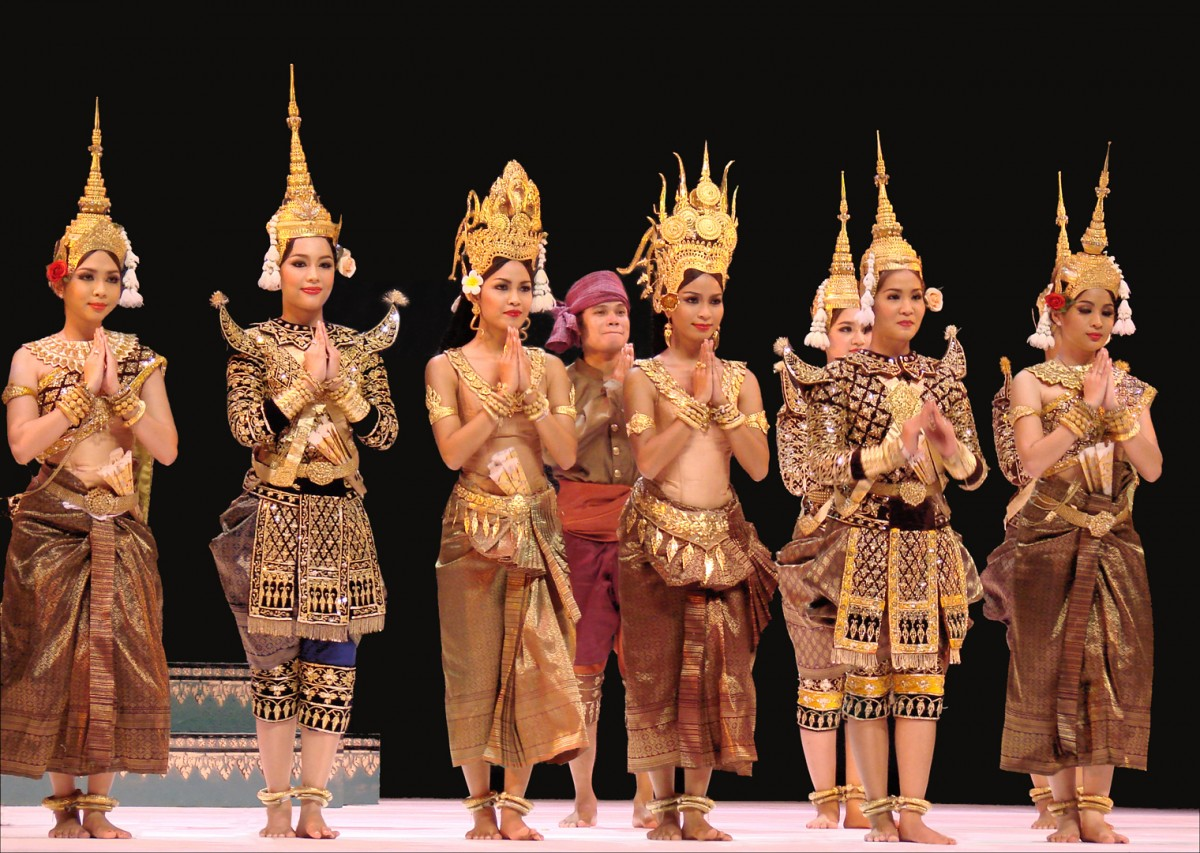 All About Southeast Asia for Kids - Image of the Cambodian Royal Ballet in Southeast Asia - Southeast Asia Quiz