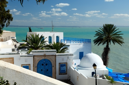 All about Tunisia Fun Science Facts for Kids - Image of a Beach in Tunisia