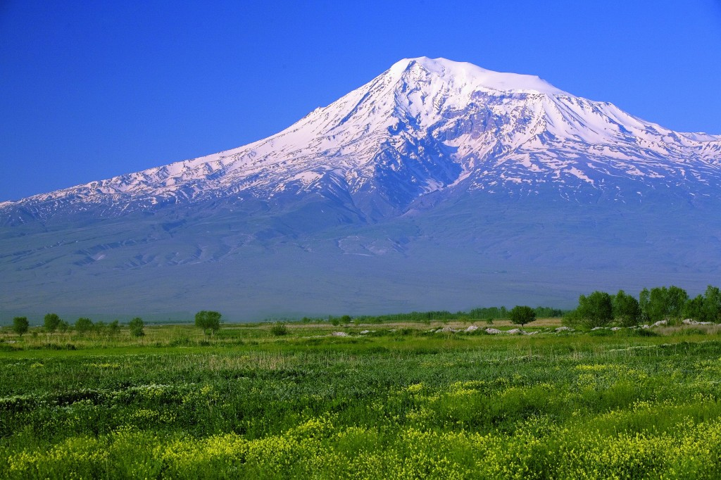All about Turkey Fun Facts for Kids - Image of the Great Ararat in Turkey