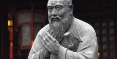 All about Who Was Confucius Fun Facts for Kids - a Statue of Confucius at the Confucius Institute in San Diego