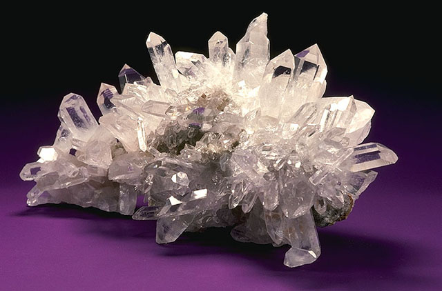 Fun Science for Kids About Crystals - Image of a Formed Crystal - Crystals Quiz - Crystals Worksheet