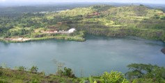 Earth Science Fun Facts for Kids on Liberia - Image of the Bomi Lake in Liberia