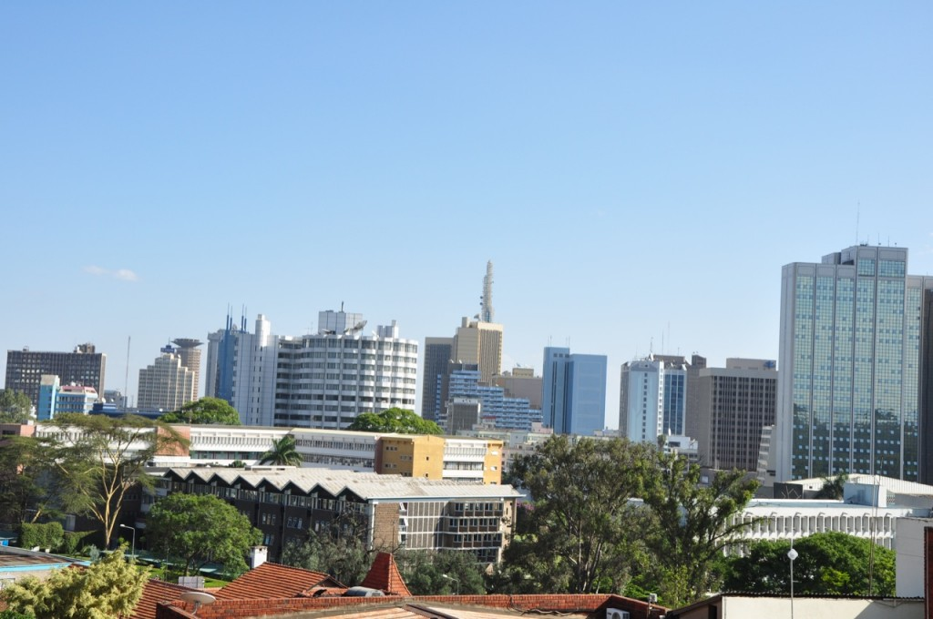 Easy Earth Science for Kids on Kenya - Image of Nairobi City the Capital of Kenya