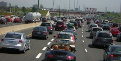 Easy Geography for Kids on City Life - Highway 401 in Toronto, the busiest highway in North America City