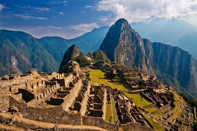 Easy Geography for Kids All About Peru - Image of Machu Picchu in Peru