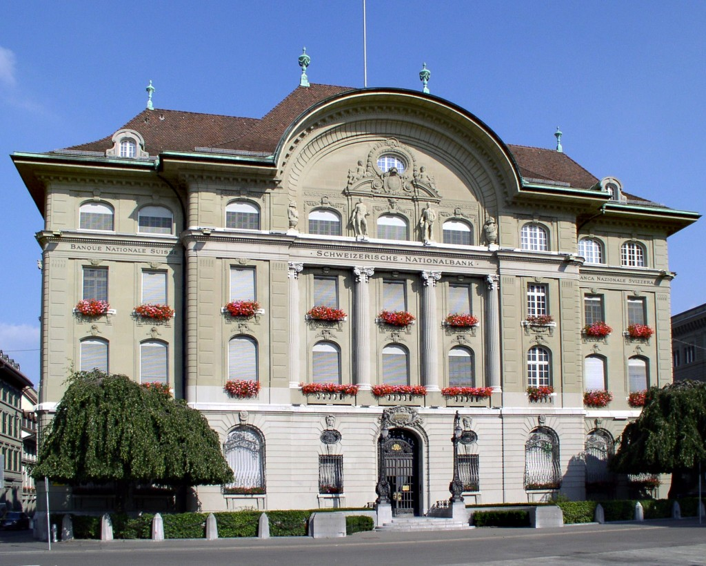 Easy Geography for Kids on Switzerland - Image of the Swiss National Bank