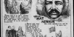 Easy Kids Science Facts on Matthew Henson - a Poster From the US Office of War Information News Bureau about Henson