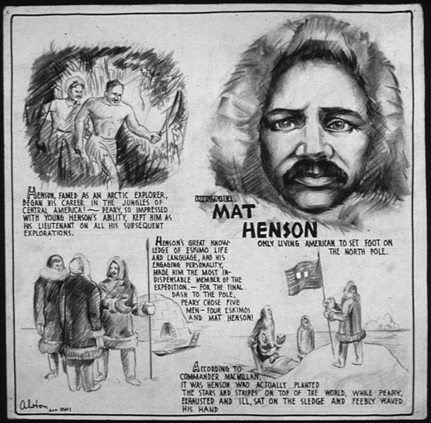 Matthew Henson Worksheet – FREE Online Printable Puzzles Geography for Kids