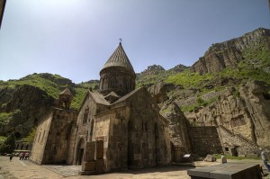 Easy Science Kids Facts All About the Monastery of the Cave - the View of the Monastery Entrance
