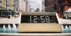 Easy Science Kids Keeping Time - a Modern Digital Clock Outside Kanazawa Station - Keeping Time Worksheet