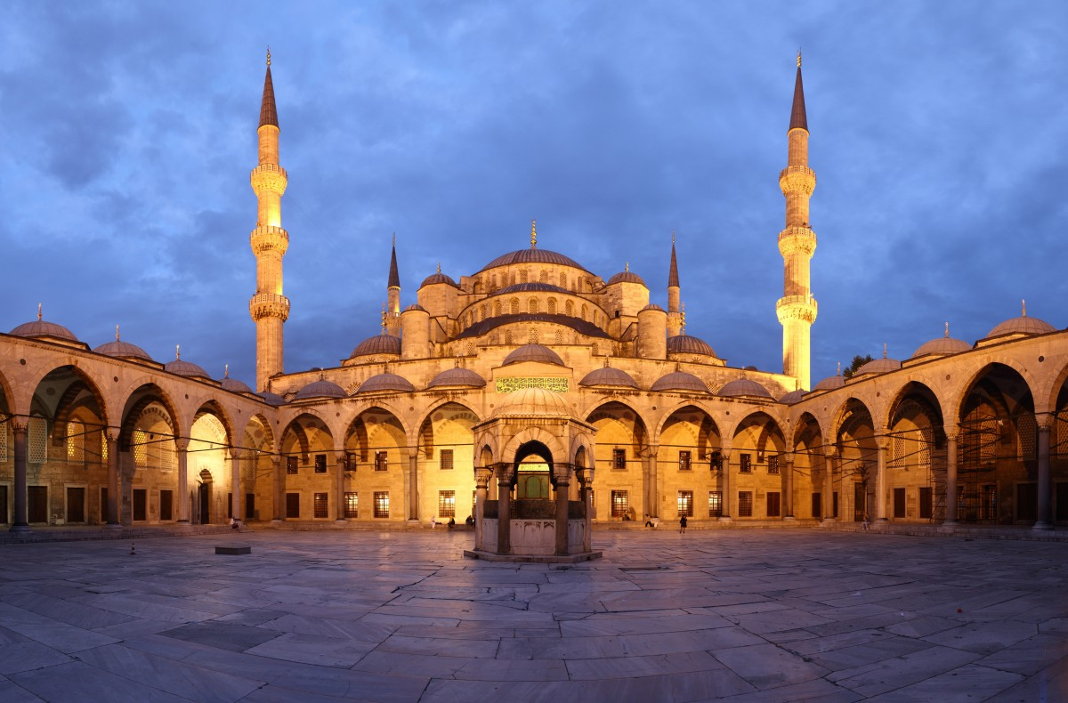 Easy Science Kids Turkey - Image of a Muslim Mosque in Turkey - Turkey Quiz