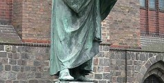Easy Science for Kids on Martin Luther - a Statue of Martin Luther Outside St. Mary's Church, Berlin - Martin Luther Worksheet