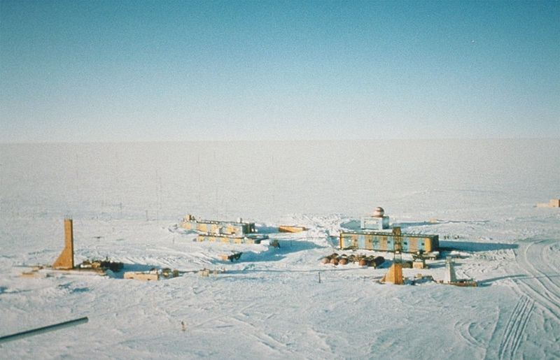 Easy Science for Kids on the Top 10 Coldest Places on Earth - The Vostok Station in Antarctica image