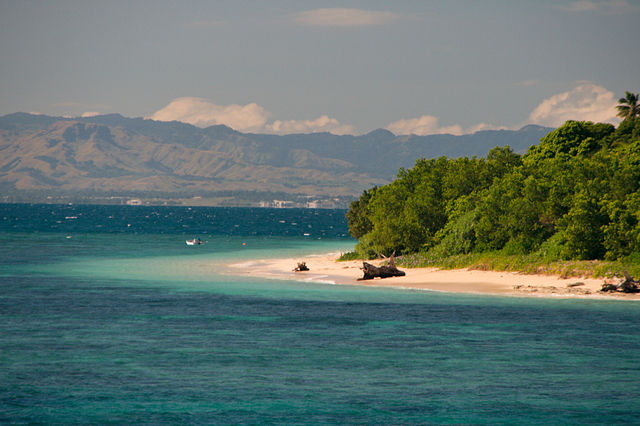Fiji Islands Quiz - Image of a Beach in Fiji Islands