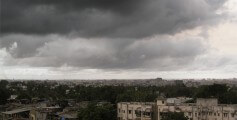 Fun Earth Science Facts for Kids on Tropical Climates - Pre-Monsoon Clouds in Mumbai, India