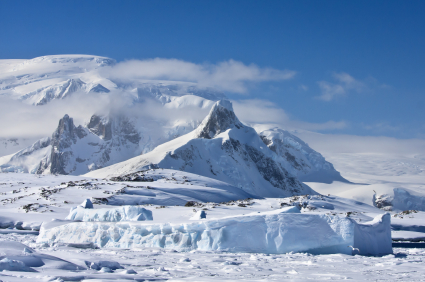 Fun Earth Science for Kids All about Top 10 Coldest Places on Earth - Snowy Mountain image