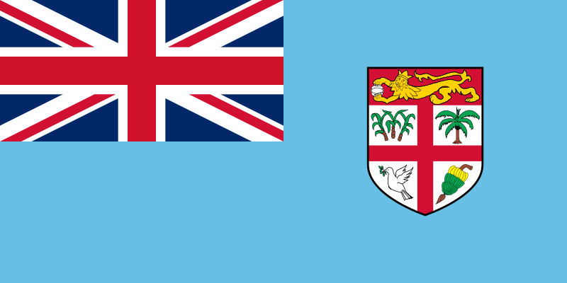Fun Facts All About Fiji Islands for Kids - the National Flag of Fiji Islands