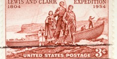 Fun Facts for Kids All About Lewis and Clark - Image of the United States Postage Stamp Showing Lewis and Clark