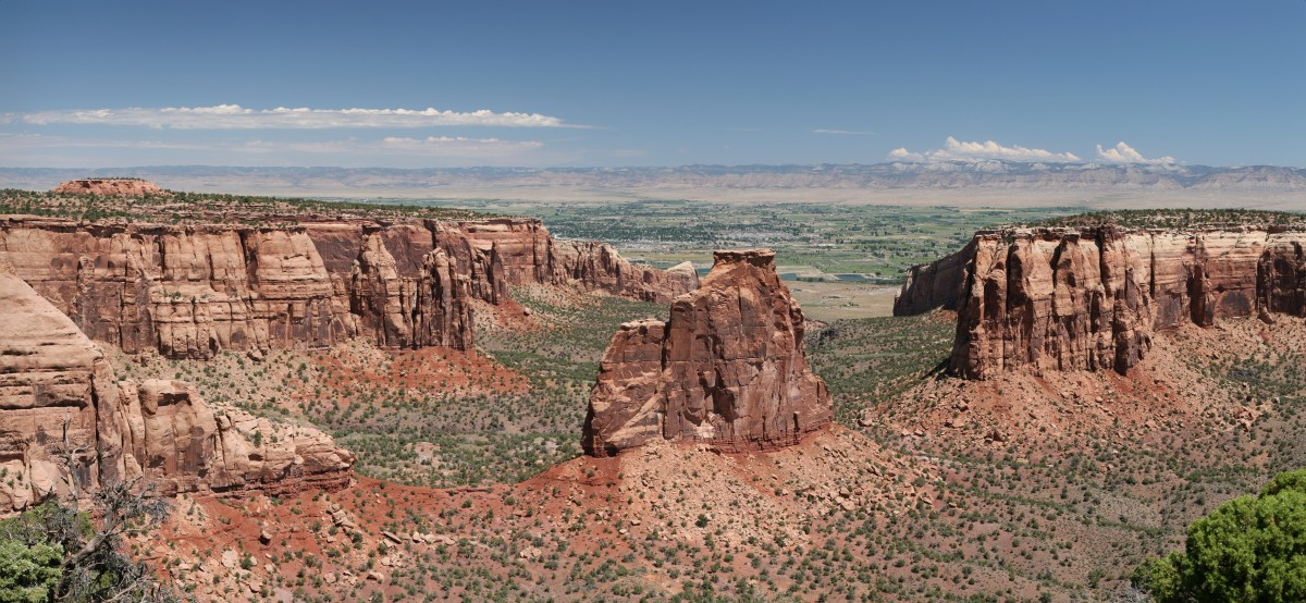 Fun Facts for Kids on American Southwest - Image of the Colorado Mountains in American Southwest